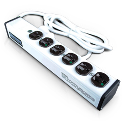Legrand - Wiremold Special Use Plug-In Outlet Center® with Six Outlets