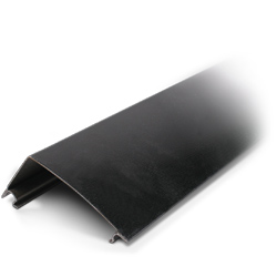 Legrand - Wiremold DS4000 Designer Raceway Cover, 5', Black