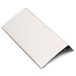 Half Seam Clip Blank Faceplate Fitting, Fog White