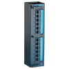 Clarity 5E Modular to 110 High Density Mini Patch Panel with Six-Port Modules