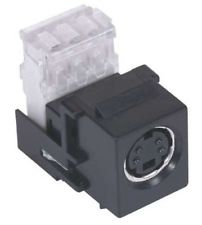 Super S-Video Snap-Fit Module with 110 Punch Down