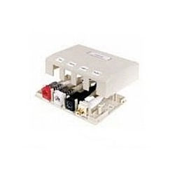 Hubbell Infin-e-Station Surface Mount Box - 4 Ports