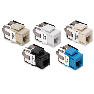 Leviton eXtreme 10G QuickPort Connectors
