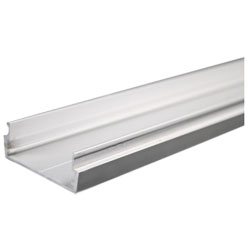 Legrand - Wiremold AL2400 Series Aluminum Satin Anodized Plugmold® Base (10 Feet)