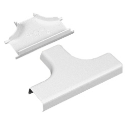 Legrand - Wiremold 400 Series Tee Fitting, White (Pkg of 10)