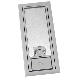 Hubbell Cover/Flange for Three-Service Floor Box