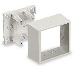 Hubbell Two-Gang Deep Undivided Low Voltage Box
