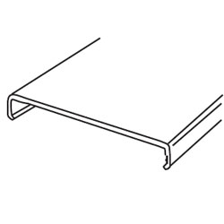 Legrand - Wiremold 3000® Series Steel Surface 5' Raceway Cover