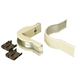 Legrand - Wiremold 2400D Series™ Raceway Radiused Divided 90° External Elbow