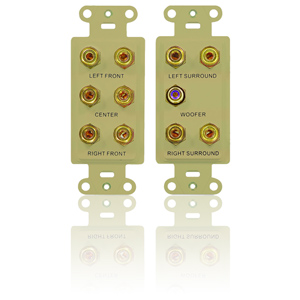 Legrand - On-Q 5.1 Home Theater Outlet Straps