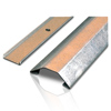 2600 Series™ Pancake® Overfloor Steel 10' Raceway Base and Cover