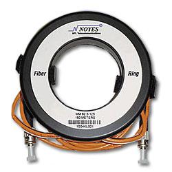 AFL Fiber Ring - Multimode with ST & SC Connectors (62.5 um), 492 ft.