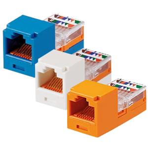 Mini-Com Mini-Jack Category 5e Module for T568A and T568B Wiring Schemes