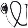SCOUT Series Earphone with Coiled Cord and Right Angle Connector