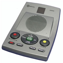 Amplicom AB900 Amplified Answering Machine with Message Speed Control