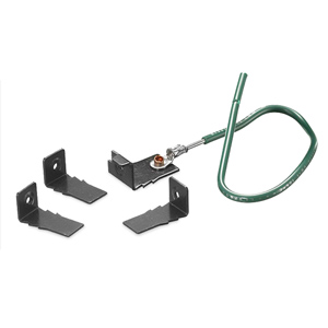 Hubbell SystemOne Universal Cover Mounting Clips Replacement (Package of 5)
