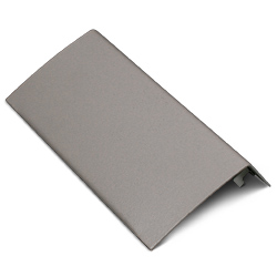 Half Seam Clip Blank Faceplate Fitting, Designer Gray