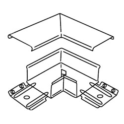 Legrand - Wiremold 3000® Series Flat Elbow Fitting