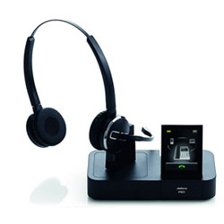 Jabra PRO 9460 Duo Binaural Wireless Headset for Softphone and Desk