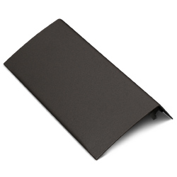 Half Seam Clip Blank Faceplate Fitting, Matte Black