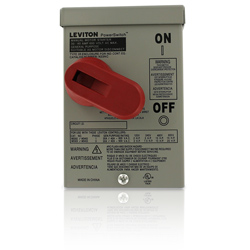Leviton Enclosure