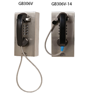 Allen Tel Vandal Resistant Phone Armored Cord