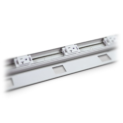 Legrand - Wiremold Plugmold® 2400 Series™ 6' NEMA 5-20R Power Strip