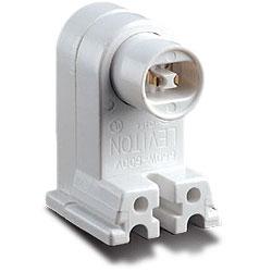 Leviton Fluorescent High Output Pedestal Base Lampholder with Plunger End