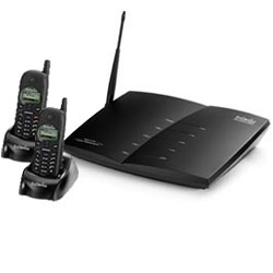 EnGenius DuraFon PRO Expandable Multi-line Industrial Cordless Phone System with Two Handsets