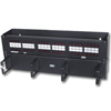SPEEDGAIN Universal 48 Port Hinged Patch Panel (T568A/T568B)
