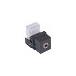 Hubbell AV Connector, 3.5mm to 110 Termination