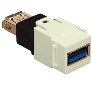 Allen Tel Versatap USB 3.0 Female A to Female A Coupler (Package of 10)