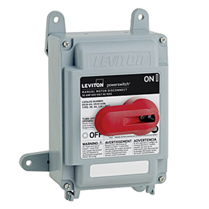 Leviton 30 Amp Non-Fused Safety Disconnect Switch