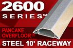 Wiremold Legrand 2600 Series Pancake Overfloor Steel 10' Raceway