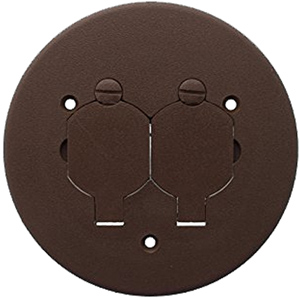 Polycarbonate Duplex Cover Plate