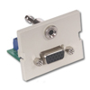 Infin-e-Station Module - 15-Pin VGA 3.5mm Stereo Jack, 1.5 Unit