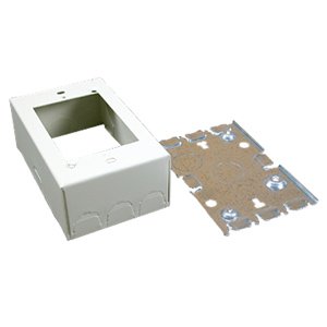Legrand - Wiremold 500® and 700® Series One-Piece Steel Surface Raceway Device Box