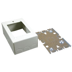 Legrand - Wiremold 500/700 Series Combination Switch & Receptacle Box Fitting