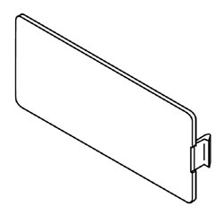 Legrand - Wiremold 5507 Series™ Blank Faceplate