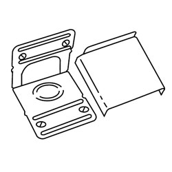 Legrand - Wiremold 3000® Series Internal Corner Coupling