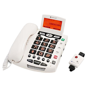 ClearSounds Amplified SOS Alert Phone