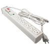 120V/15A, 6 Outlets, Lighted Switch, 15' Cord, Computer Grade Surge Protector