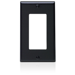 Leviton 1 Gang Decora Wallplate