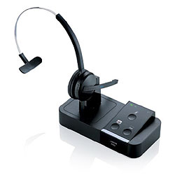 Jabra PRO 9450 DECT 6.0 Wireless Mono Headset with Three Wearing Styles and Dual Connectivity