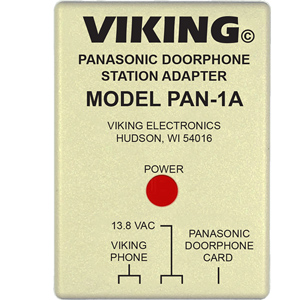 Panasonic Doorphone Station Adapter