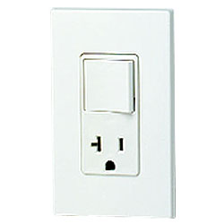 Leviton 20 Amp Decora Combination Receptacle