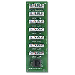 Leviton 1 x 6 Bridged Telephone Expansion Board
