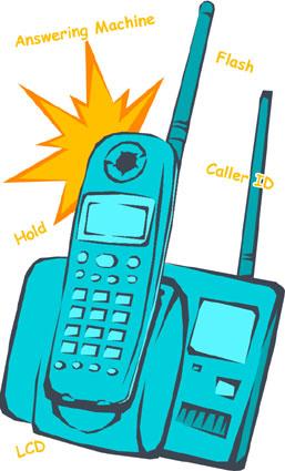 cordless phone guide, digital answering machine, cordless phone batteries, cordless phone headset