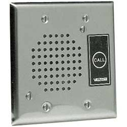 Valcom Flush Mount Doorplate Speaker with LED