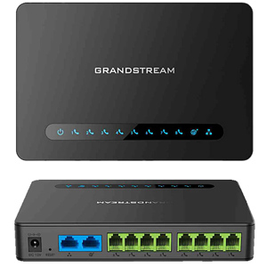 Powerful 8 port FXS Gateway with Gigabit NAT Router